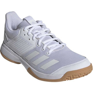 adidas LIGRA 6 biela 4 - Dámska halová obuv