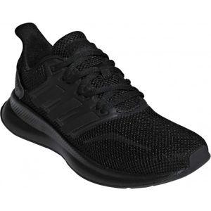 adidas RUNFALCON K čierna 6 - Detská bežecká obuv