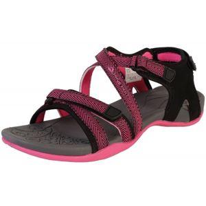 ALPINE PRO BRERA ružová 37 - Dámska letná obuv