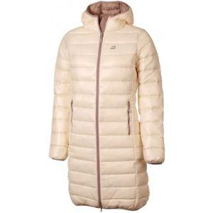ALPINE PRO KIRIMA béžová XS - Dámsky kabát