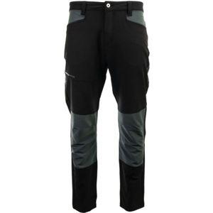 ALPINE PRO LEIK čierna 56 - Pánske outdoorové nohavice