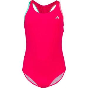 Aress MERMAID ružová 164-170 - Dievčenské jednodielne plavky