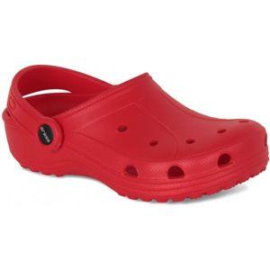 Aress ZABKI červená 31 - Detská plážová obuv