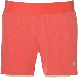 Asics 2N1 SHORT W oranžová XS - Dámske šortky