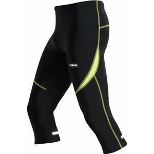 Axis RUN NOHAVICE čierna 46 - Pánske športové 3/4 nohavice