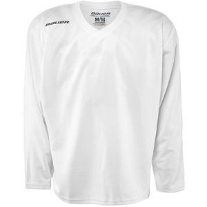 Bauer 200 JERSEY YTH biela XL - Detský hokejový tréningový dres