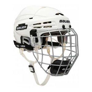 Bauer 5100 COMBO biela L - Hokejová prilba