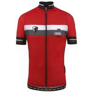 Briko MAGMA BK 10 červená M - Cyklistický dres