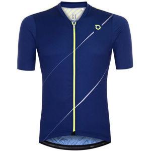 Briko FRESH GRANPH 4S0 modrá L - Pánsky cyklistický dres