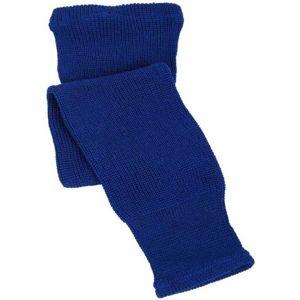CCM 100 KNIT SOCK IN 24 modrá NS - Detské hokejové pletené štulpne