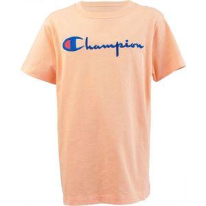 Champion CREWNECK T-SHIRT oranžová L - Dámske tričko