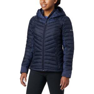 Columbia WINDGATES HOODED JACKET tmavo modrá XL - Dámska zimná bunda