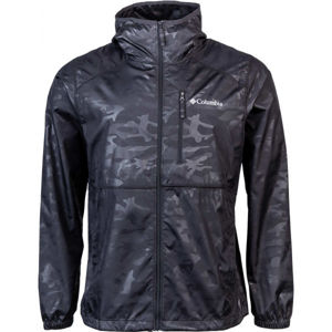 Columbia FLASH FORWARD™ WINDBREAKER PRINT čierna M - Pánska vetrovka