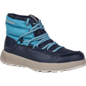Columbia SLOPESIDE VILLAGE modrá 6.5 - Dámska zimná obuv
