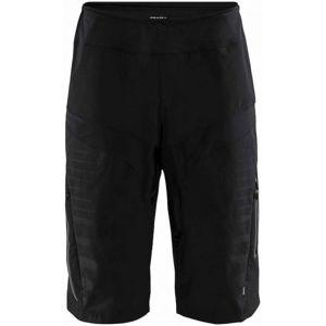 Craft HALE XT BLK čierna M - Pánske cyklistické šortky