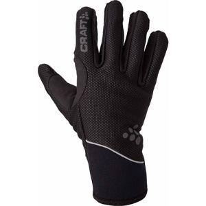 Craft RUKAVICE DISCOVERY čierna M - Zateplené rukavice