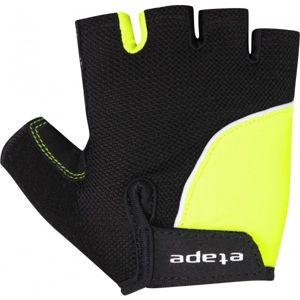 Etape TOBI RUKAVICE KIDS čierna 7-8 - Detské cyklistické rukavice