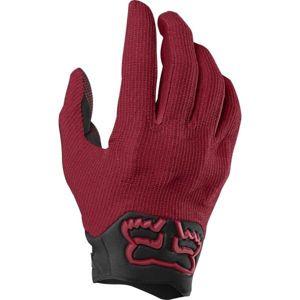 Fox DEFEND KEVLAR červená XL - Pánske cyklistické rukavice