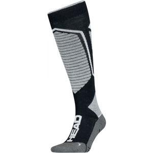 Head UNISEX PERFORMANCE KNEEHIGH čierna 39 - 42 - Pretekárske lyžiarske ponožky