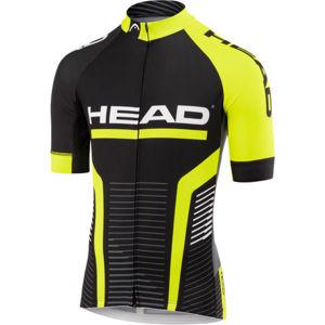 Head MEN JERSEY TEAM čierna XXXL - Pánsky cyklistický dres