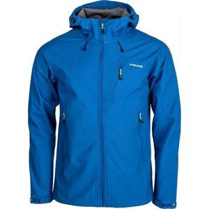 Head SAXON modrá XL - Pánska softshellová bunda