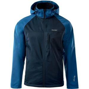 Hi-Tec CORO III modrá XL - Pánska softshellová bunda