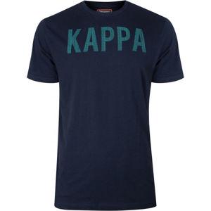Kappa LOGO BAKX tmavo modrá XXL - Pánske tričko