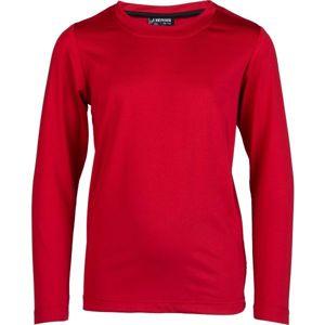 Kensis GUNAR JR červená 140-146 - Chlapčenské technické tričko