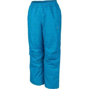 Lewro NOY modrá 116-122 - Detské zateplené nohavice