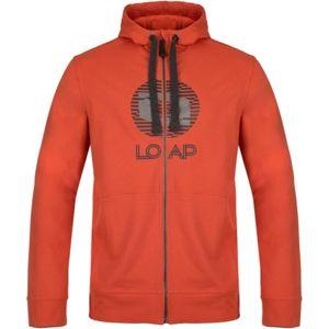Loap DALEK oranžová L - Pánska mikina