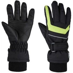 Loap RENKO zelená 10 - Detské zimné rukavice