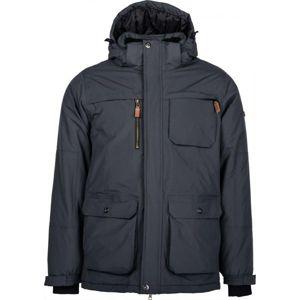 Lotto JACON tmavo šedá XL - Pánska zimná bunda