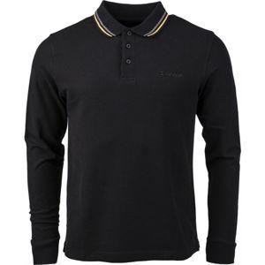 Lotto POLO CLASSICA LS PQ  M - Pánske polo tričko s dlhým rukávom