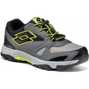 Lotto CROSSRIDE 600 IV JR čierna 34 - Detská športová obuv