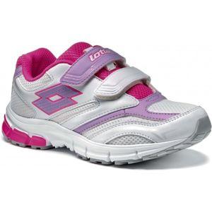 Lotto ZENITH V CL S ružová 29 - Detská športová obuv