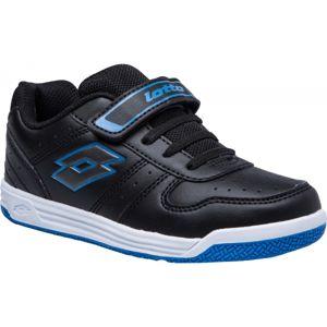 Lotto SET ACE XI CL SL modrá 29 - Detská voľnočasová obuv
