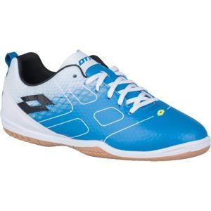Lotto MAESTRO 700 ID JR modrá 36 - Chlapčenská halová obuv