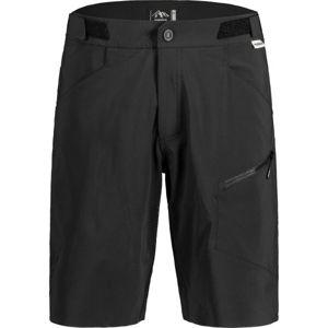 Maloja FUORNM čierna L - Pánske šortky na bicykel