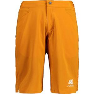 Maloja ROSSOM oranžová L - Pánske šortky na bicykel
