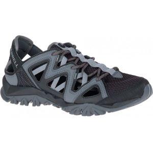 Merrell TETREX CREST WRAP šedá 4.5 - Dámska outdoorová obuv