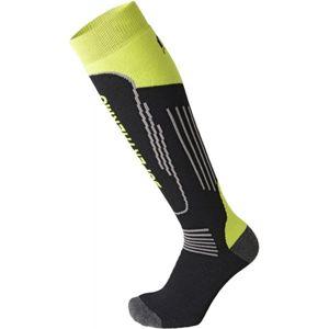 Mico SUPERTHERMO JR čierna XL - Detské lyžiarske ponožky