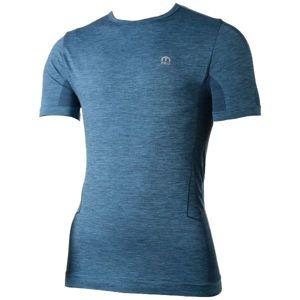 Mico HALF SLVS R/NECK SHIRT SKIN tmavo modrá 2 - Funkčné tričko