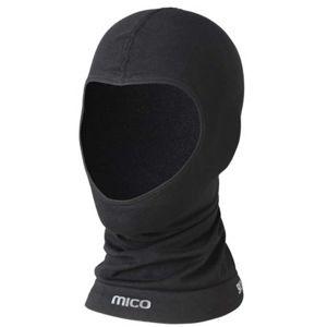 Mico WARM JNR čierna NS - Juniorská lyžiarska zatepľovacia kukla