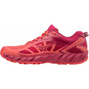 Mizuno WAVE IBUKI 2 W červená 4.5 - Dámska bežecká obuv