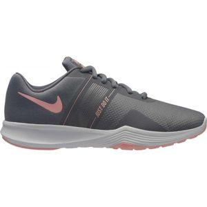 Nike CITY TRAINER 2 W tmavo sivá 9.5 - Dámska tréningová obuv
