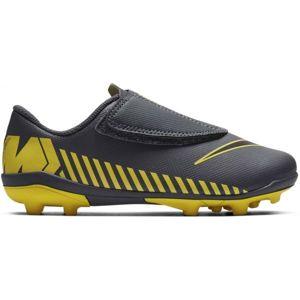 Nike JR VAPOR 12 CLUB MG žltá 11C - Chlapčenské kopačky