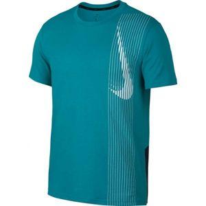 Nike DRY TOP SS LV zelená S - Pánske tričko