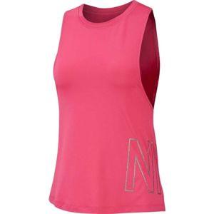 Nike TANK VNR NIKE GRX ružová M - Dámske tielko