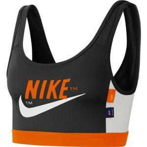 Nike SWOOSH ICNCLSH BRA PAD čierna XS - Dámska športová podprsenka