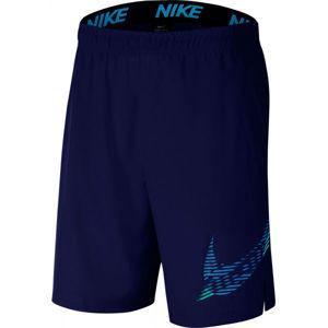Nike FLX 2.0 GFX1 M zelená XL - Pánske športové kraťasy